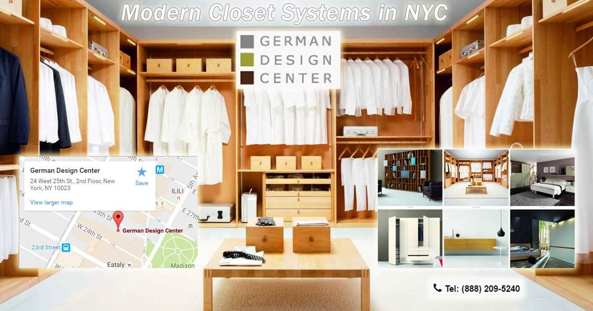 Modern Closet Systems Nyc